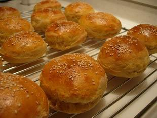 Pains pour hamburger (buns)