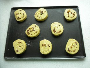 Pains aux raisins : Photo of step #10