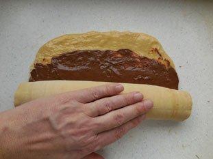 Brioche feuilletée au chocolat : Photo de l'étape 19