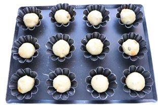 Petites brioches pistache-abricot : Photo de l'étape 8