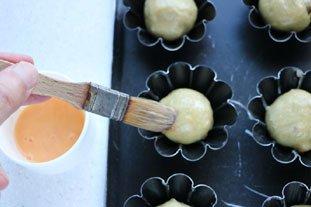Petites brioches pistache-abricot : Photo de l'étape 9