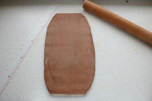 Brioche feuilletée en brownie : Photo de l'étape 16