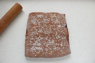 Brioche feuilletée en brownie : Photo de l'étape 19