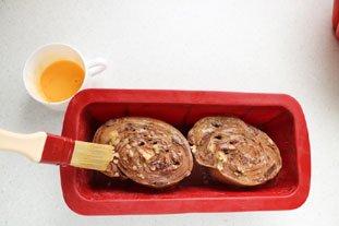 Brioche feuilletée en brownie : Photo de l'étape 25