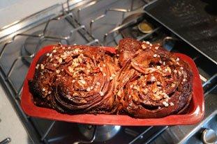 Brioche feuilletée en brownie : Photo de l'étape 27