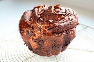 Brioche feuilletée en brownie : Photo de l'étape 28