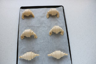 Croissants : Photo de l'étape 20