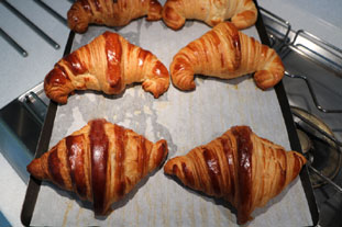Croissants : Photo de l'étape 23