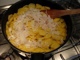 Tortilla de pommes de terre : Photo de l'étape 6