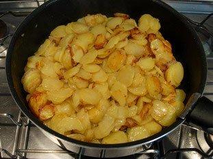Tortilla de pommes de terre : Photo de l'étape 7