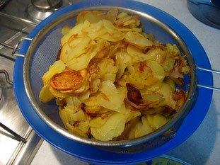 Tortilla de pommes de terre : Photo de l'étape 8