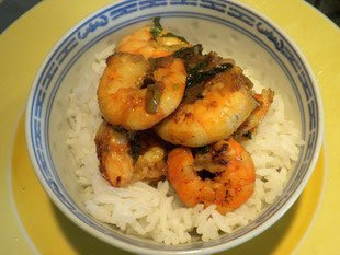Vietnamese prawns : Photo of step #10