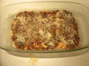 Lasagnes Bolognaises : Photo de l'étape 8
