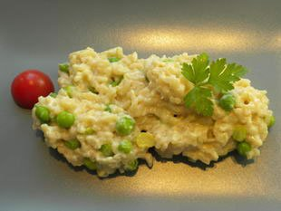"Risotto aux petit-pois ""Mantecare"" : Photo de l'étape 16"