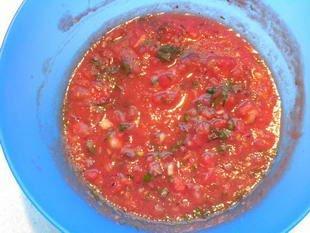 Sauce à la tomate pimentée : Photo de l'étape 6