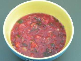 Sauce à la tomate pimentée : Photo de l'étape 7