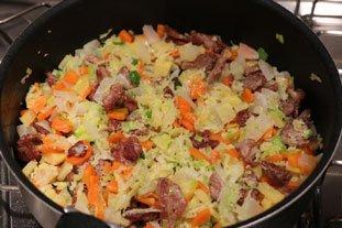 Sauté de porc aux cacahouètes : Photo de l'étape 7