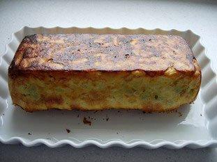 Koulibiak in pie dish : Photo of step #24