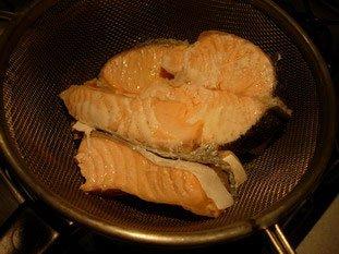 Rillettes de saumon : Photo de l'étape 2