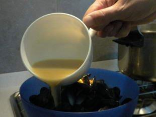 Moules marinières : Photo de l'étape 9