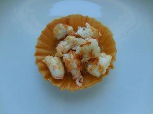 Croustade de langoustines au sabayon : Photo de l'étape 11