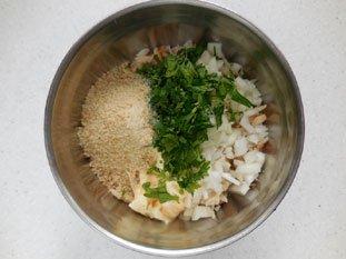 Gâteau de crabe : Photo de l'étape 3