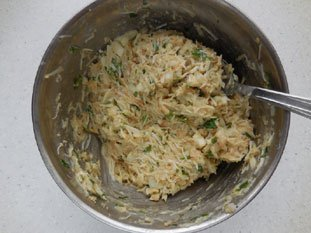 Gâteau de crabe : Photo de l'étape 4