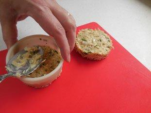 Gâteau de crabe : Photo de l'étape 5