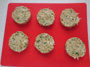 Gâteau de crabe : Photo de l'étape 6