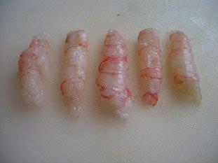 Langoustines grillées au sésame : Photo de l'étape 2