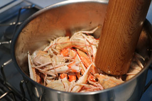 Gratin de queues de langoustines : Photo de l'étape 5