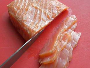 Saumon mariné comme un hareng : Photo de l'étape 9
