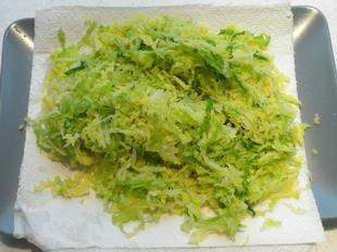 Saumon poêlé au choux vert : Photo de l'étape 6