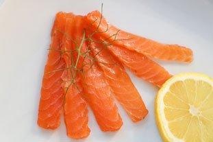 Saumon gravlax : Photo de l'étape 10
