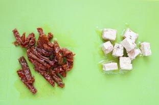 Bouchées de rouget aux graines de pavot : Photo de l'étape 1