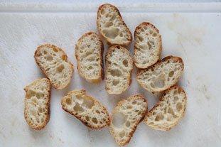 Bouchées de rouget aux graines de pavot : Photo de l'étape 2