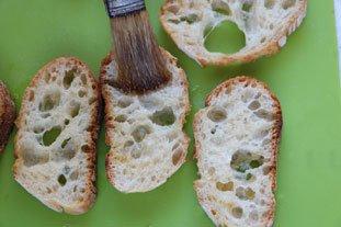 Bouchées de rouget aux graines de pavot : Photo de l'étape 3