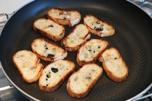 Bouchées de rouget aux graines de pavot : Photo de l'étape 4