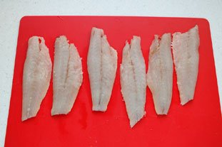 Bouchées de rouget aux graines de pavot : Photo de l'étape 5