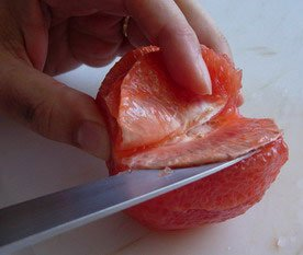 How to peel a fruit : Photo of step #11