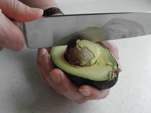 How to prepare an avocado : Photo of step #7