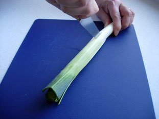 How to prepare leeks : Photo of step #6