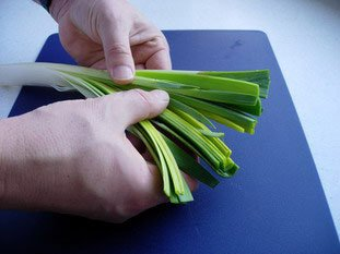 How to prepare leeks : Photo of step #7