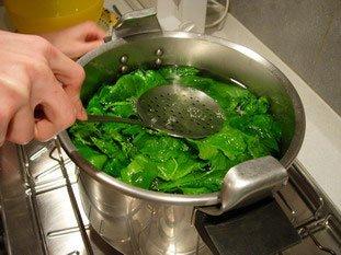 Comment préparer des épinards : Photo de l'étape 11