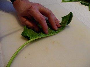 Comment préparer des épinards : Photo de l'étape 3