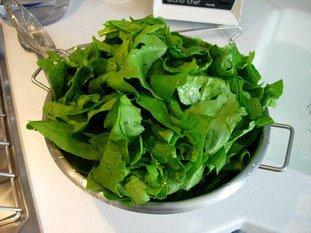 Comment préparer des épinards : Photo de l'étape 2