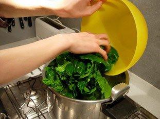 Comment préparer des épinards : Photo de l'étape 10