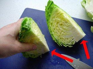 Comment cuire chou vert - Comment cuisiner un choux vert ...