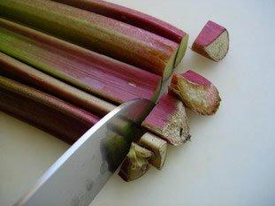 Comment préparer de la rhubarbe : Photo de l'étape 1