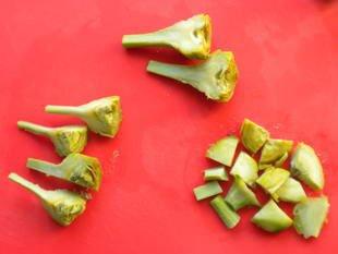 Comment préparer des artichaut violets : Photo de l'étape 11